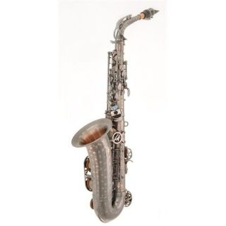 New LA Sax BIG LIP Alto Saxophone in the Diamond Spiral Selmer sax kit
