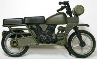 Power Team Elite PTE World Peacekeepers Vehicle   Motorcycle Green M&C