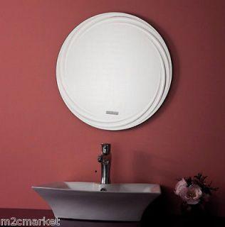 23 Silver Rippling Glass Wall Mirror Bed/Bathroom