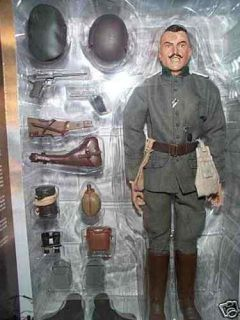 SIDESHOW 12 INCH WWI GERMAN ARMY INFANTRY OFFICER WESTERN FRONT 1917