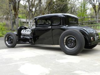 Double Zd Model A Ford hot rod chassis LOW and engineered to work THE