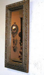 Vintage Gold / Gilded Gesso Frame Wall MIRROR Parlor Bedroom Hallway
