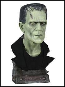 Frankenstein Boris Karloff Life Size Bust Sideshow (21)