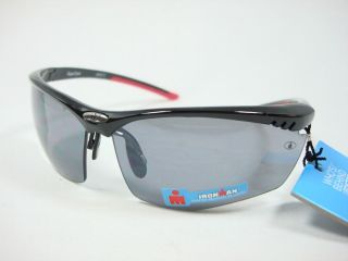 Foster Grant Iron Man Black Red sunglasses Achiever SR0510 Shatter