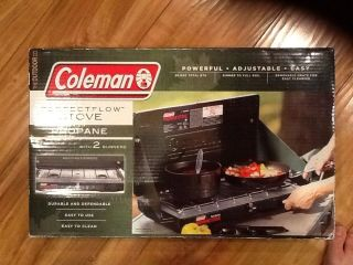 Coleman 2 Burner Propane Stove. Brand New In Package