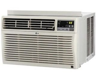 LG Electronics 18,000 BTU 230v Window Air Conditioner with Heat