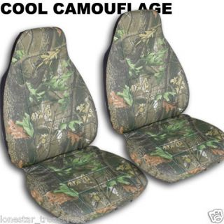 jeep LIBERTY CAR SEAT COVERS CAMO TREE DESIGN FRont