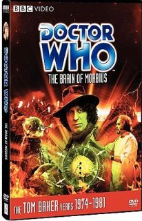 WHO THE BRAIN OF MORBIUS (2008 DVD)/TOM BAKER/FULL SCR​EEN/SEALED