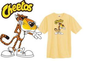 Cheetos Chester Cheetah t shirt food funny cool S 3XL