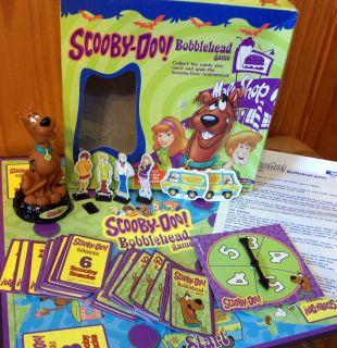 Scooby Doo Bobblehead Board Game Complete 2002 Pressman