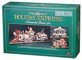 New Bright 384 Holiday Express Electric Animated Train Set G NBRU0380