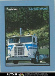 1978 Freightliner Low Cab Forward COE Tractor Truck Brochure