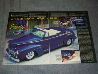 1941 Ford Convertible Street Rod Article Forty Something