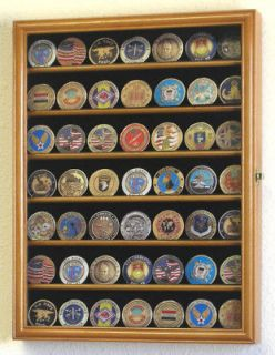 Army Military Challenge Coin Display Case Holder Rack
