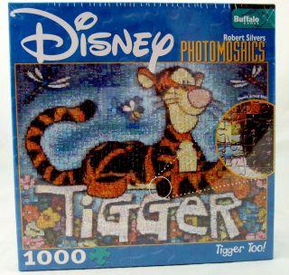 Jigsaw Puzzle Disney Tigger Too 1000 Pieces Buffalo Games USA NEW