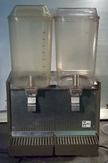Crathco D25 2 Refrigerated Cold Beverage Dispenser Machine Working