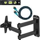 Flat LCD TV/Monitor Wall Mount Bracket Articulating/Tilt Arm 15 17 19