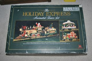 HOLIDAY EXPRESS 1996 NEW BRIGHT G SCALE TRAIN SET