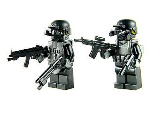 custom LEGO Soldier BLACK OPS special forces army builder
