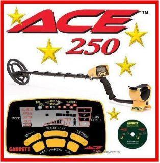 garrett ace 250 metal detector in Metal Detectors