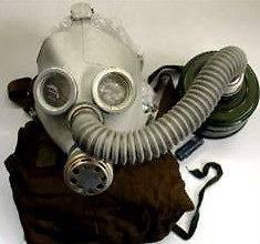 NEW Medium Child Gas Mask PDF D Nuclear Biological Chemical NBC
