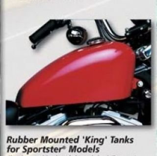25 GALLON KING GAS FUEL TANK FOR HARLEY SPORTSTER XL