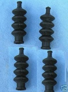 RUBBER BOOTS 4 radio box seals bellows rc model boat B2