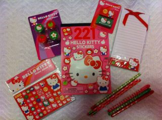LOT OF HELLO KITTY EASTER BASKET