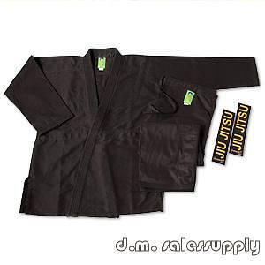ProForce® Gladiator Pearl Jiu Jitsu Gi Uniform   Black