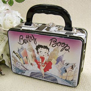 Betty Boop ~ Lunch Box ~ Keepsake Purse Tin Tote ~ Limousine ~City