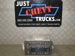 03 04 05 06 GM Chevy Truck SUV AM/FM stereo 6 CD player Radio UC6