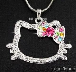swarovski hello kitty necklace in Jewelry & Watches