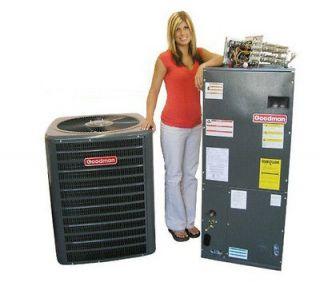 Goodman 13 SEER Split System Heat Pump 2.5 Ton GSZ130301, ARPF182416