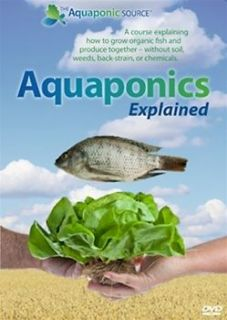 Aquaponics Explained   DVD (set of 2)