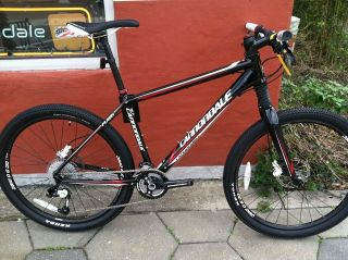 NEW 2011 CANNONDALE FLASH F1 HARDTAIL MOUNTAIN BIKE BICYCLE 23.5 LBS