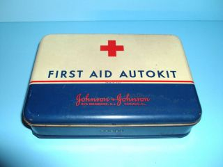 Kit Band Aid Red Cross VGC Car Truck (Fits 1972 Oldsmobile Cutlass
