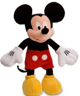 Disney Mickey Mouse Large Premium Plush Stuffed Doll Ultra Soft