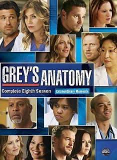Greys Anatomy Greys The Complete DVD Eighth Season 8
