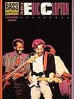 BEST OF ERIC CLAPTON FOR BASS GUITAR TAB SONG BOOK