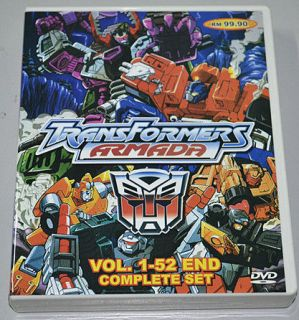 Transformers Armada VOL.1 52END 6 DISC ENGLISH VERSION+BONUS DVD FREE