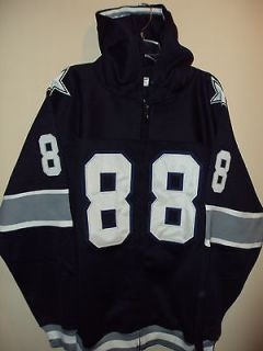 Dallas Cowboys Blue Irvin # 88 Vintage Looking Hoody Jacket Size 56