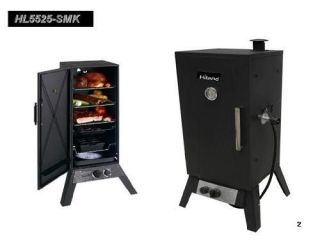Propane, bbq smoker , uses chips,, Smoke fish, pork, chicken,beef