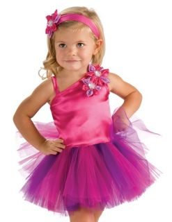 Girls Infant Baby Toddler Pink Fairy Halloween Costume Tutu Dress