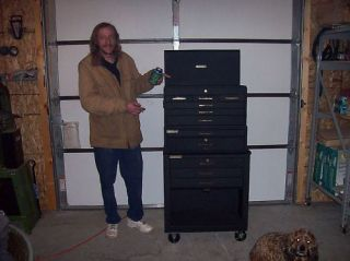 11 DRAWER ROLLING TOOL CHEST LOCKING BOX CABINET COMBO
