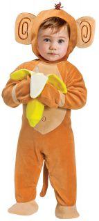 Infant Baby Toddler Monkey Halloween Costume