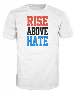 Rise Above Hate John Cena Hustle WWE Wrestling Fighter T Shirt