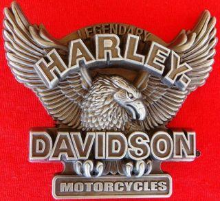 harley davidson belt buckle in Mens Accessories