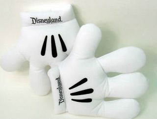 Resort Disney Adult Mickey Mouse White Gloves Plush Costume Hands