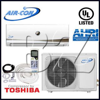 TON DUCTLESS MINI SPLIT AIR CONDITIONER HEAT PUMP 13 SEER,INS.KIT