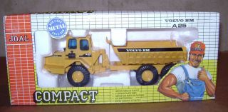 Volvo BM A25 Dump Truck 1/50 NIB toy Construction Joal #231 NIB
